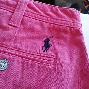 Polo by Ralph Lauren pink shorts